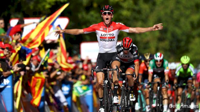 Wallays Outfoxes Field To Win From Break In Vuelta Stage 18