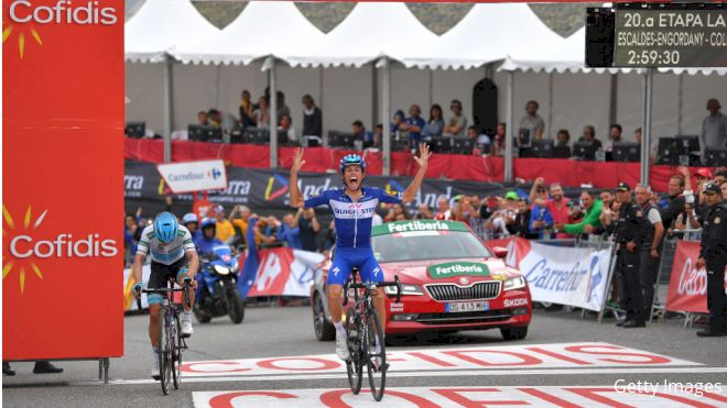Yates Survives Final Vuelta Stage, Mas Takes Win In Andorra