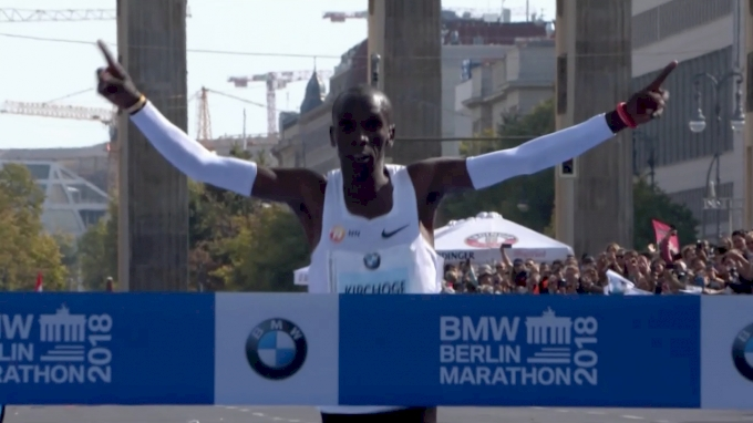 Berlin Marathon Kipchoge World Record 2:01:39