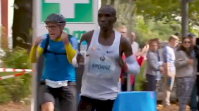 Eliud Kipchoge's Water Bottle Handler Deserved A Highlight Reel