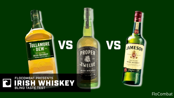 Proper 12 vs. Jameson vs. Tullamore Dew