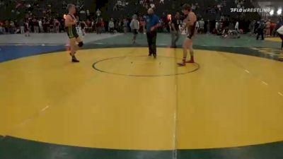 170 lbs Semifinal - Austin Miller, Norfolk Senior High vs Brody Dickinson, Cozad Wrestling