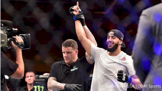 Dominick Reyes On Lofty Standard At 205: 'We're Big Without Being Sloppy'
