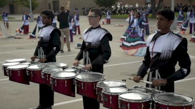 Coppell Drum Full Warmup In The Lot