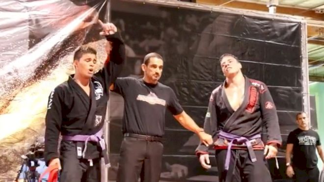 Machado Overcomes Heavyweight Monsters To Win World Series Of Grappling