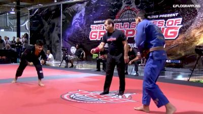 Black vs Brown Belt Ends in Quick Sub