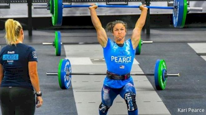 Top-10 CrossFit Games Athlete Kari Pearce Helps You Master 'Grace'