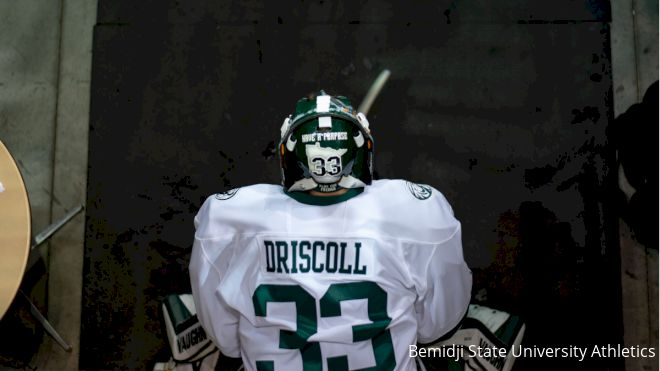 Bemidji State's Stud Goalie Driscoll Makes The Difference In Tight Games