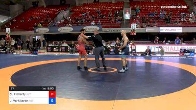 67 lbs Quarterfinal - Morgan Todd Flaharty, USOTC vs Jarod Verkleeren, Nittany Lion Wrestling Club