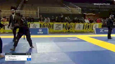 Ian Lee Poole vs Ricky Philogene 2020 World Master IBJJF Jiu-Jitsu Championship
