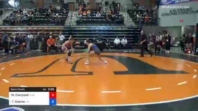 109 lbs Semifinal - McKayla Campbell, Campbellsville vs Tehani Soares, Indiana Tech