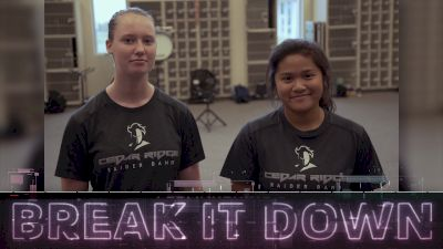 Break It Down: Cedar Ridge 2018 Marimba Split