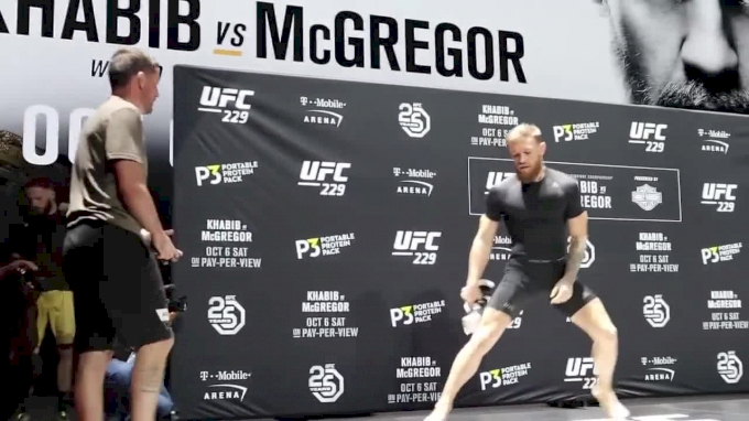 Conor McGregor UFC 229 Workout