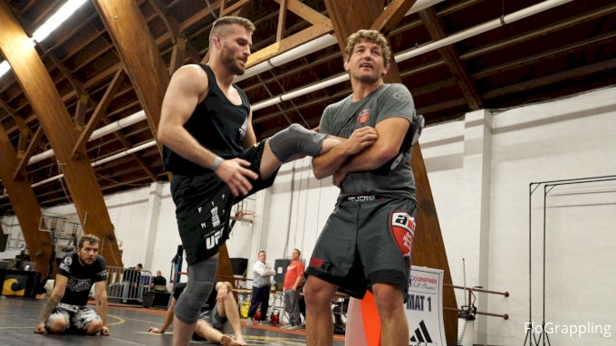 Ben Askren Explains Single-Leg Technique