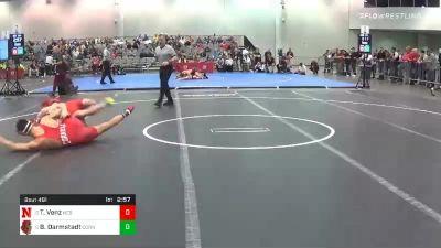 184 lbs Consolation - Taylor Venz, Nebraska vs Benjamin Darmstadt, Cornell