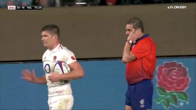 Try Or No Try? England Heartbreak