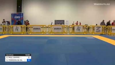 GIANNI PAUL GRIPPO vs GABRIEL FERREIRA DA SILVA 2020 Atlanta International Open IBJJF Jiu-Jitsu Championship