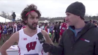 Wisconsin's Morgan McDonald After Unleashing His Kick To Win The Title