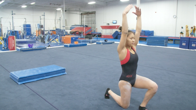Drill: Enforcing The Chest Up Position In The Hurdle