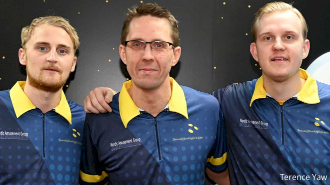 Sweden Leads As USA's Reaction 'Gone' In Trios At Worlds