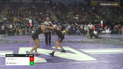 149 lbs Quarterfinal - Vincent Turk, Iowa vs Michael Murphy, Virginia