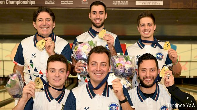 In Massive Upset, Italy Wins Team Gold At World Championships