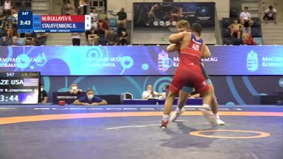 71 kg 1/8 Final - Ruslan Nurullayev, Azerbaijan vs Braden Scott Stauffenberg, United States