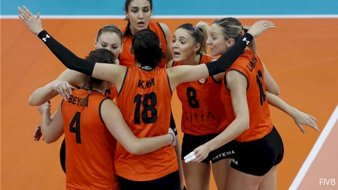Minas Tenis Clube, VakifBank Istanbul Headed For Gold Medal Match