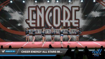 Cheer Energy All Stars Impulse [2021 L4.2 Senior - D2 Day 2] 2021 Encore Championships: Charlotte Area DI & DII