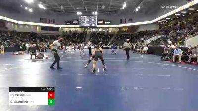 133 lbs Prelims - Charlie Pickell, Augsburg University vs Cody Castelline, Fontbonne University