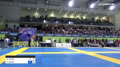 BRUNO FILIPE vs VICTOR HUGO 2019 European Jiu-Jitsu IBJJF Championship