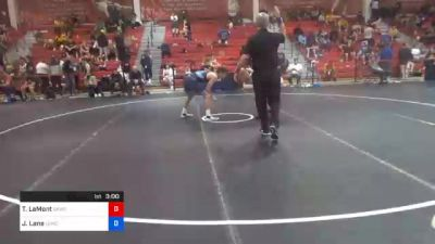 57 kg Prelims - Taylor LaMont, Sunkist Kids Wrestling Club vs Jaret Lane, Lehigh Valley Wrestling Club