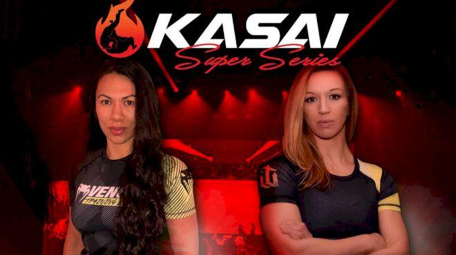 KASAI Super Series Adds Raquel Canuto vs. Chelsah Lyons