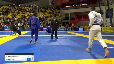 LEONARDO FERNANDES SAGGIORO vs JOÃO PAULO GONÇALVES NETO 2019 World Jiu-Jitsu IBJJF Championship
