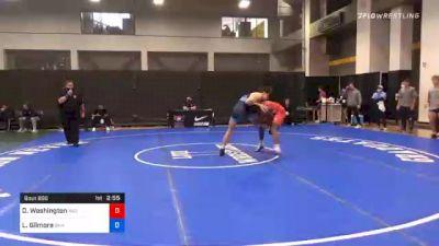 79 kg Prelims - Donnell Washington, Indiana RTC vs Laith Gilmore, San Francisco Wrestling Club