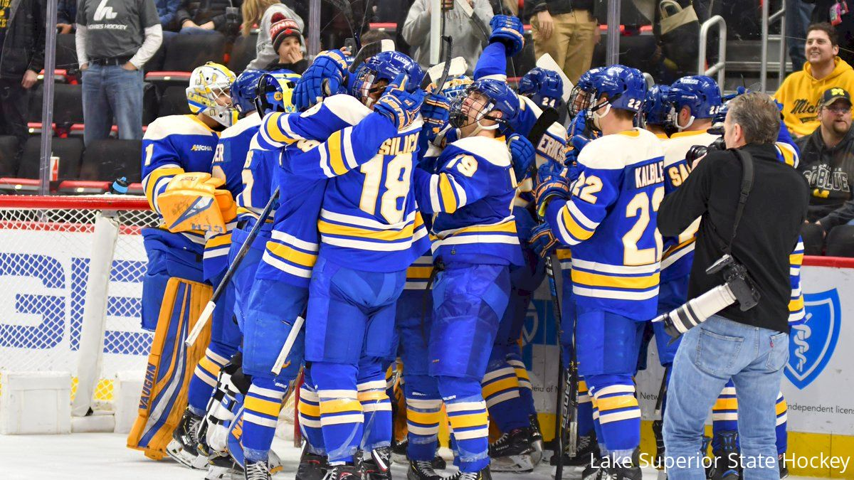 Image result for lake superior state hockey