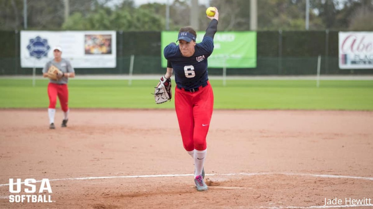 Monica Abbott & Cat Osterman Take The Mound At The USA Tryouts