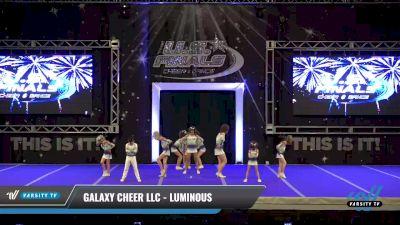 Galaxy Cheer LLC - Luminous [2021 L1 Junior - D2 Day 2] 2021 The U.S. Finals: Ocean City