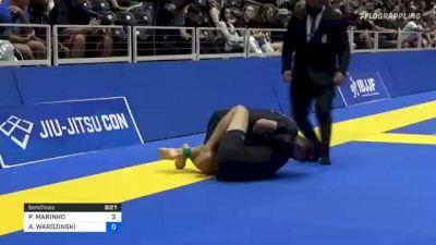 PEDRO MARINHO vs ADAM WARDZINSKI 2021 World IBJJF Jiu-Jitsu No-Gi Championship