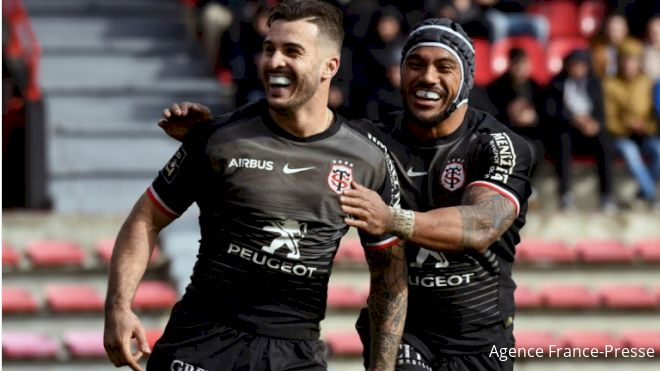 Toulouse Overtake Clermont For 1st In Top 14