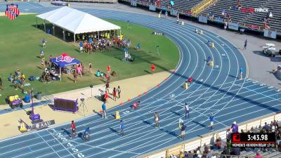 Boys' 4x400m Relay, Finals 1 - Age 17-18