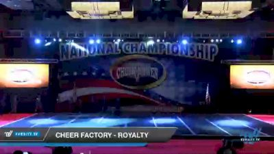 Cheer Factory - Royalty [2021 L4 Senior Open - D2 Day 3] 2021 ACP Southern National Championship