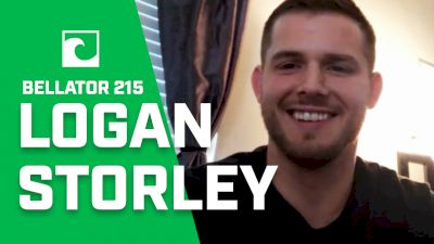 Logan Storley On Bellator 215, Why He's Not In Welterweight Tournament