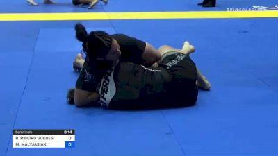 RAFAELA RIBEIRO GUEDES vs MARIA MALYJASIAK 2021 World IBJJF Jiu-Jitsu No-Gi Championship