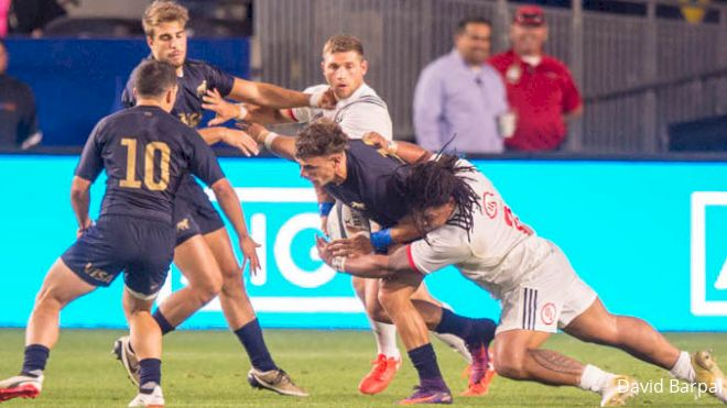 Argentina XV Stands Pat To Face USA