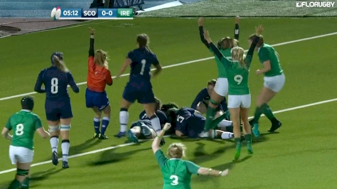 Highlights: Ireland vs Scotland W6N