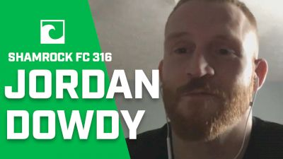 Shamrock FC 316: Jordan Dowdy Talks Face-Punchin' & Retro Video Games