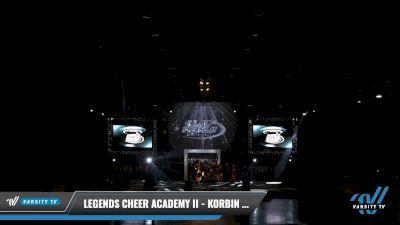 Legends Cheer Academy II - Korbin & His Black Diamonds [2021 L2 Junior - Small Day 2] 2021 The U.S. Finals: Louisville