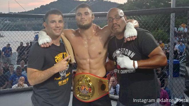 Undefeated Light Heavyweight Prospect Dalton Rosta Signs With Bellator MMA
