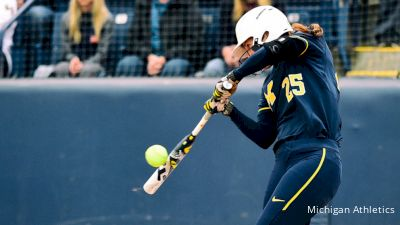 California Commotion Sign Faith Canfield, Former Michigan Infielder